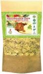Картофельное пюре с мясом и жареным луком (60гр)